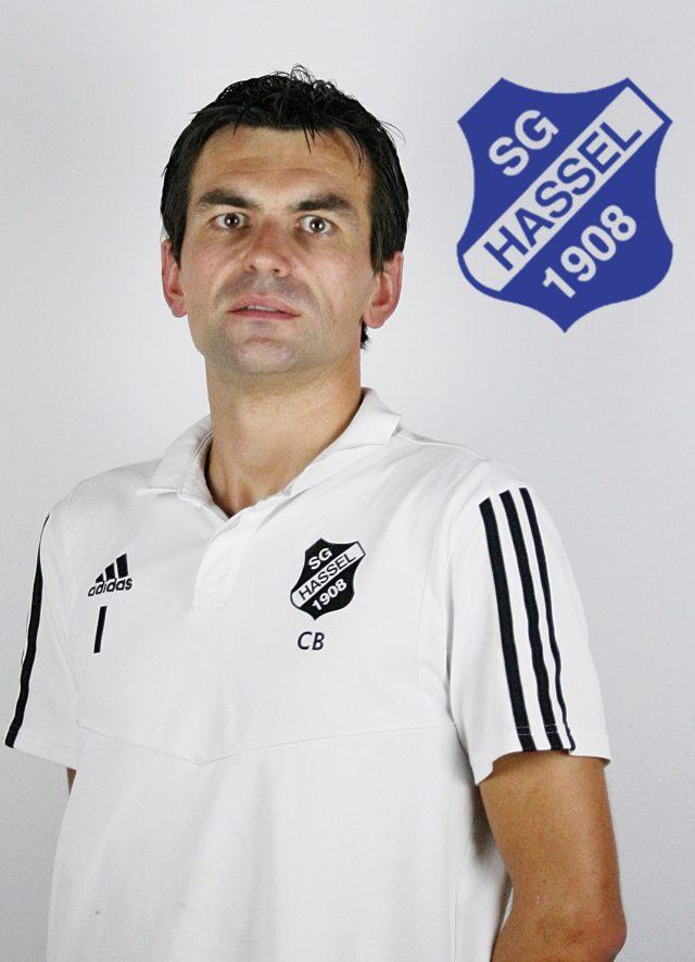 Torwart-Trainer Christian Bur